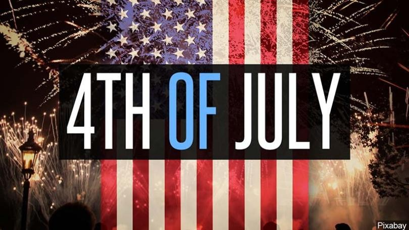 We will be Closed for the 4th of July