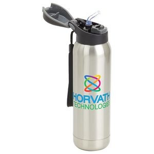 Stratford 17 oz Pop-Top Vacuum Insulated Stainless Steel Bottle