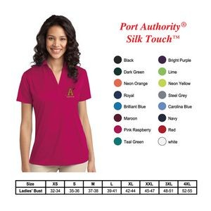 Port Authority?Ladies Silk Touch Performance Polo
