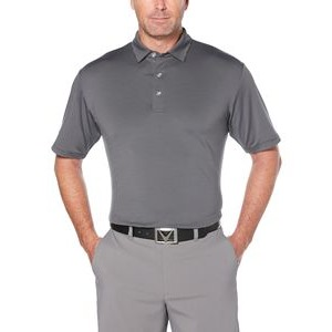 Men's Fine Line Strip Polo