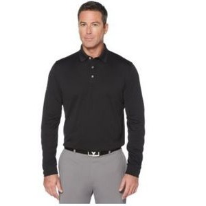 Men's Long Sleeve Core Performance Polo Shirt